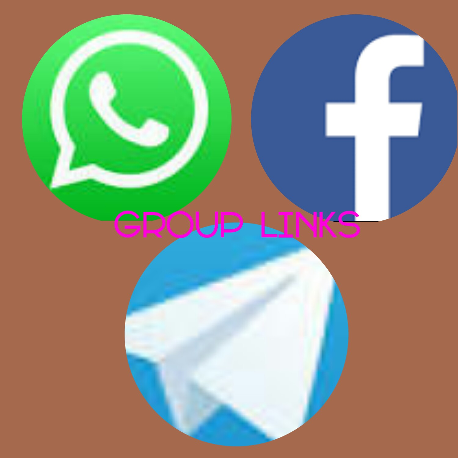 Group Links For WhatsApp, Facebook & Telegram – Live Search